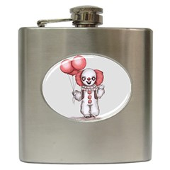 They All Float Hip Flask (6 Oz) by lvbart