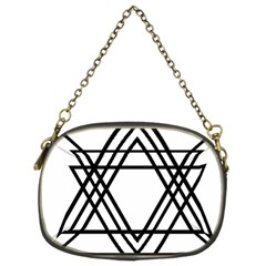 Triangles Chain Purses (two Sides)  by TRENDYcouture