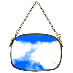Blue Cloud Chain Purses (two Sides)  by TRENDYcouture