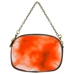 Orange Essence  Chain Purses (two Sides)  by TRENDYcouture