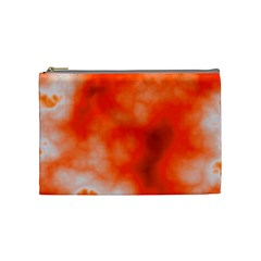 Orange Essence  Cosmetic Bag (medium)
