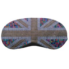 Multicoloured Union Jack Sleeping Masks by cocksoupart