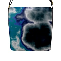 Oceanic Flap Messenger Bag (l)  by TRENDYcouture