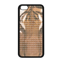 Tiger Tiger Apple Iphone 5c Seamless Case (black) by cocksoupart