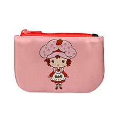 Berry Girl Coin Change Purse by Ellador