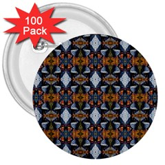 Stones Pattern 3  Buttons (100 Pack)