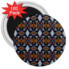 Stones Pattern 3  Magnets (100 Pack) by Costasonlineshop