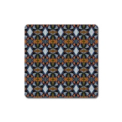 Stones Pattern Square Magnet by Costasonlineshop