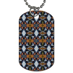 Stones Pattern Dog Tag (two Sides) by Costasonlineshop