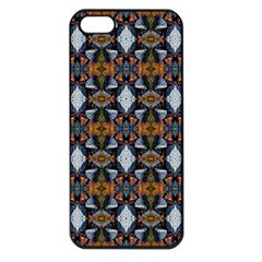 Stones Pattern Apple Iphone 5 Seamless Case (black) by Costasonlineshop