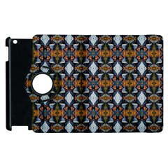 Stones Pattern Apple Ipad 2 Flip 360 Case