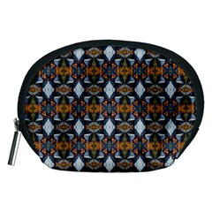 Stones Pattern Accessory Pouches (medium)  by Costasonlineshop