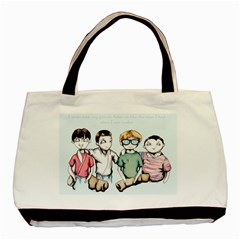 Two For Flinching Basic Tote Bag (two Sides)