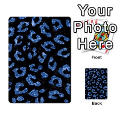 Skin5 Black Marble & Blue Marble (r) Multi Purpose Cards (rectangle)