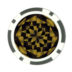 Bold Geometric Poker Chip Card Guards (10 Pack)