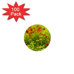 Poppy I 1  Mini Magnets (100 Pack)  by colorfulartwork