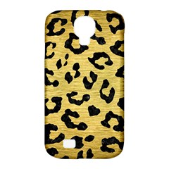 Skin5 Black Marble & Gold Brushed Metal Samsung Galaxy S4 Classic Hardshell Case (pc+silicone) by trendistuff