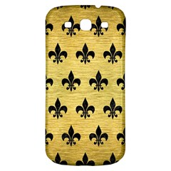 Royal1 Black Marble & Gold Brushed Metal Samsung Galaxy S3 S Iii Classic Hardshell Back Case by trendistuff