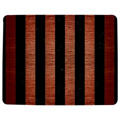 Stripes1 Black Marble & Copper Brushed Metal Jigsaw Puzzle Photo Stand (rectangular) by trendistuff