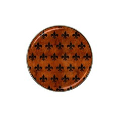 Royal1 Black Marble & Brown Burl Wood Hat Clip Ball Marker (10 Pack) by trendistuff