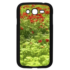 Poppy V Samsung Galaxy Grand Duos I9082 Case (black) by colorfulartwork