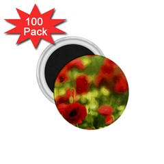Poppy Vi 1 75  Magnets (100 Pack)  by colorfulartwork