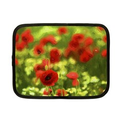 Poppy Vi Netbook Case (small)  by colorfulartwork