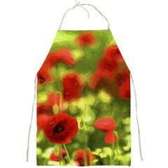 Poppy Vi Full Print Aprons by colorfulartwork