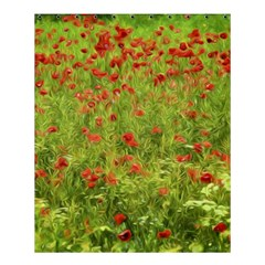 Poppy Vii Shower Curtain 60  X 72  (medium)  by colorfulartwork