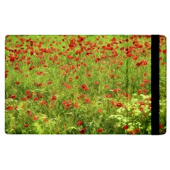 Poppy Vii Apple Ipad 2 Flip Case by colorfulartwork