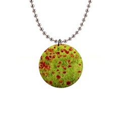 Poppy Viii Button Necklaces by colorfulartwork