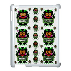 Monster Trolls In Fashion Shorts Apple Ipad 3/4 Case (white) by pepitasart
