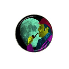 Sherlock Holmes Hat Clip Ball Marker (4 Pack) by icarusismartdesigns