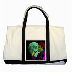 Sherlock Holmes Two Tone Tote Bag by icarusismartdesigns
