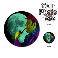 Sherlock Holmes Multi-purpose Cards (round)  by icarusismartdesigns
