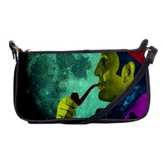 Sherlock Holmes Shoulder Clutch Bags by icarusismartdesigns