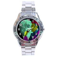 Sherlock Holmes Stainless Steel Analogue Watch