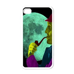 Sherlock Holmes Apple Iphone 4 Case (white) by icarusismartdesigns