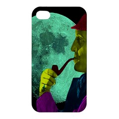 Sherlock Holmes Apple Iphone 4/4s Premium Hardshell Case by icarusismartdesigns