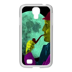 Sherlock Holmes Samsung Galaxy S4 I9500/ I9505 Case (white) by icarusismartdesigns