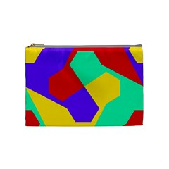Colorful Misc Shapes                                                  Cosmetic Bag by LalyLauraFLM