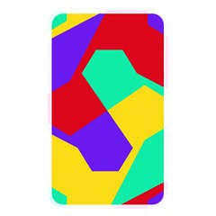 Colorful Misc Shapes                                                  			memory Card Reader (rectangular) by LalyLauraFLM