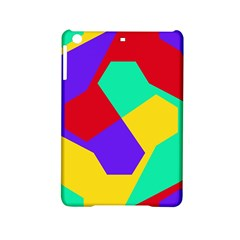 Colorful Misc Shapes                                                  			apple Ipad Mini 2 Hardshell Case by LalyLauraFLM