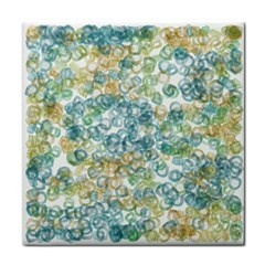 Fading Shapes Texture                                                    			tile Coaster by LalyLauraFLM