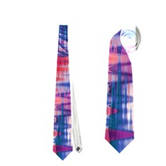 Cosmic Heart Of Fire, Abstract Crystal Palace Neckties (two Side)