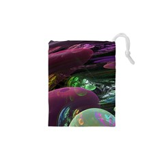 Creation Of The Rainbow Galaxy, Abstract Drawstring Pouches (xs)  by DianeClancy