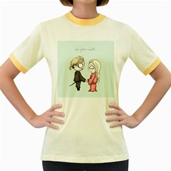 As You Wish Women s Fitted Ringer T-shirts by lvbart