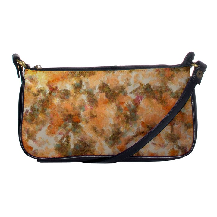 Water Oil Paint                                                       			Shoulder Clutch Bag