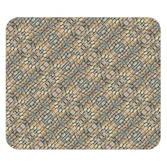 Cobblestone Geometric Texture Double Sided Flano Blanket (small)  by dflcprints