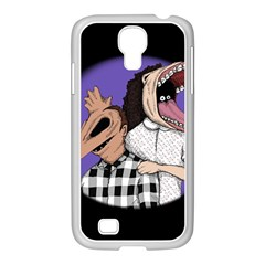 Family Portrait Of The Recently Deceased Samsung Galaxy S4 I9500/ I9505 Case (white) by lvbart